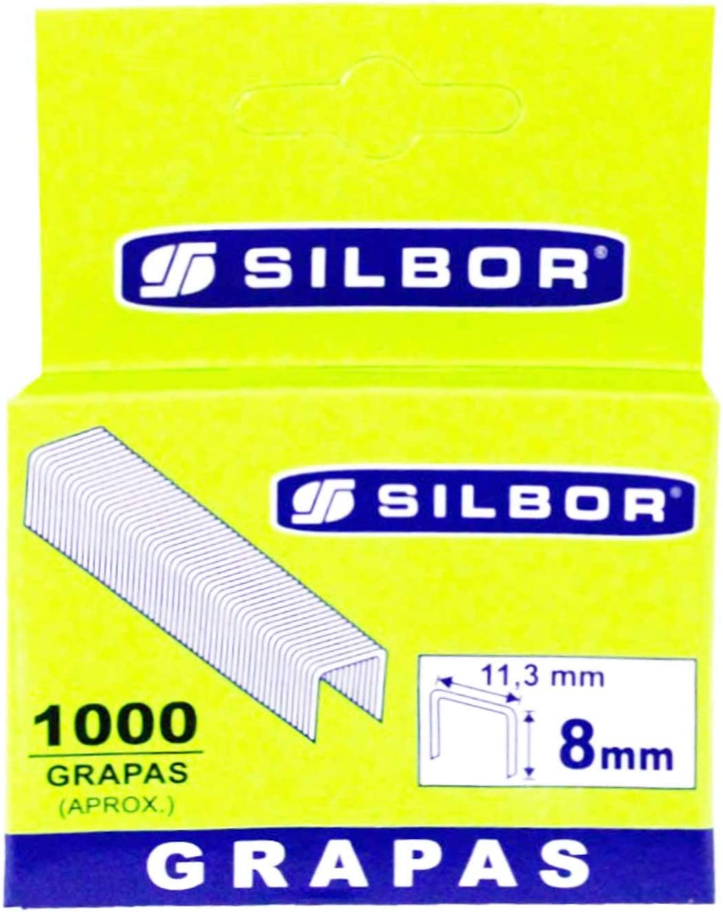 Grapas de 10 mm Silbor