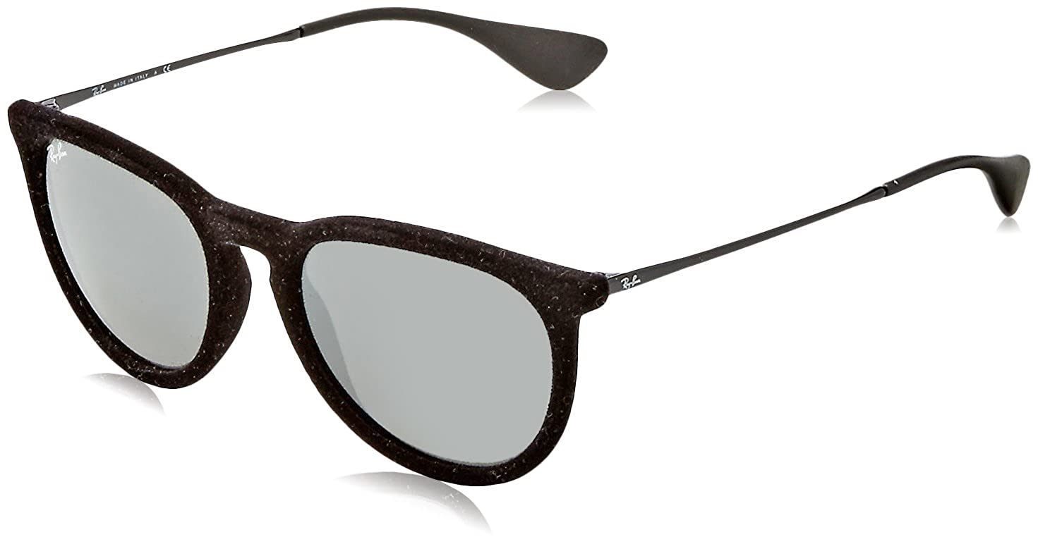 Amazon.com  Ray Ban Unisex RB4171 60756G Erika Sunglasses Blk Velvet Grey  54mm  Ray-Ban  Clothing fd699ccf2d