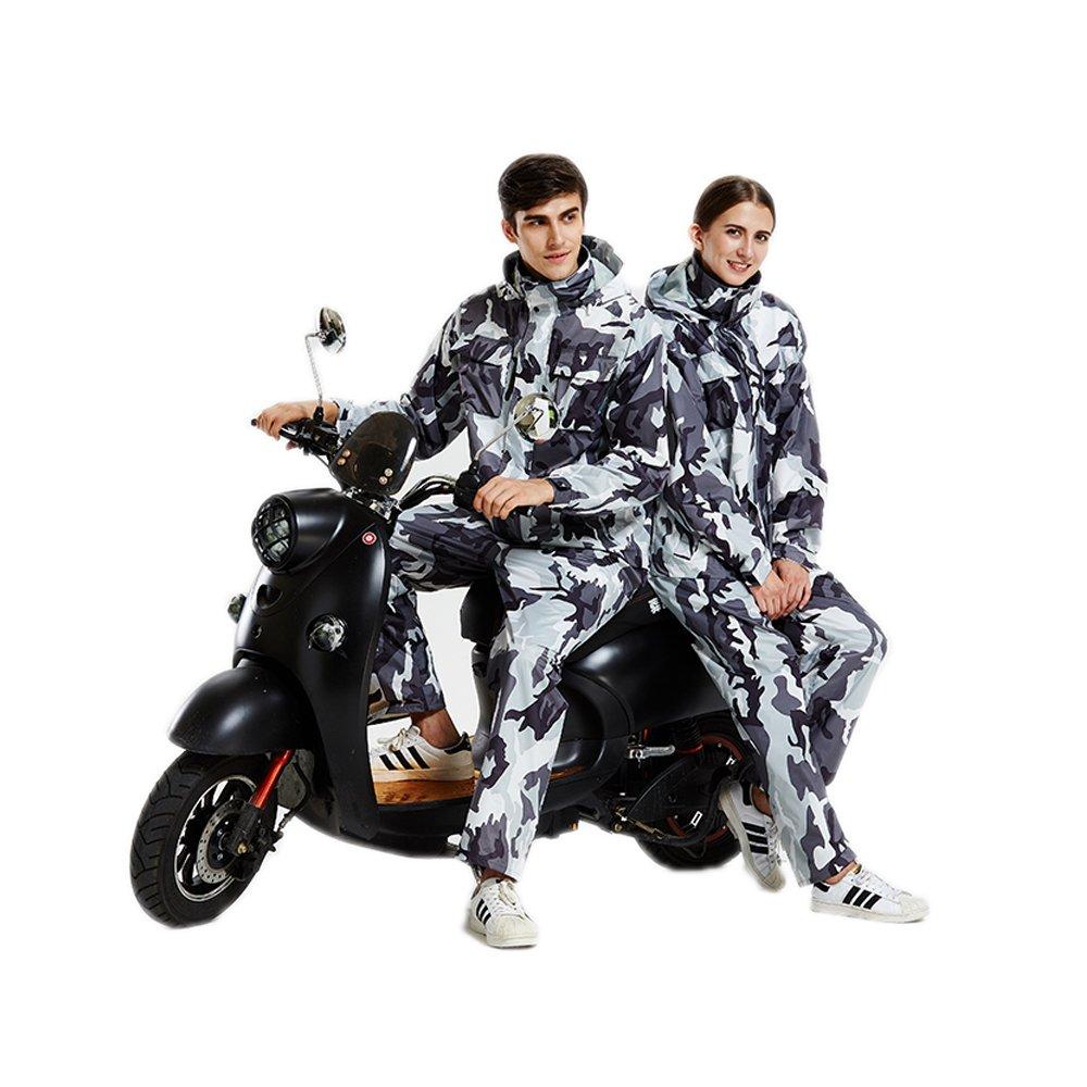 Ext/érieur Homme//Femme /Étanche /à leau de Pluie -Camouflage Ynport Crefreak Combinaison imperm/éable /à Capuche