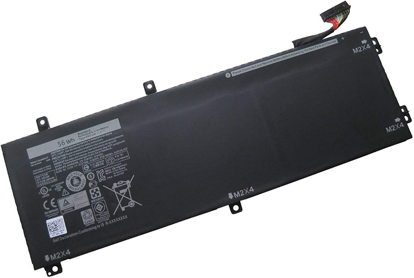 SERNN RRCGW Replacement Laptop Battery Compatible with Dell XPS 15 9550 Dell Precision 5510 RRCGW M7R96 62MJV [11.4V 56Wh]