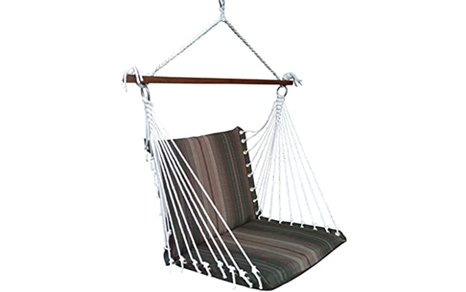 Twotree Pedar Hammock Swing (Garden Stripe Green)