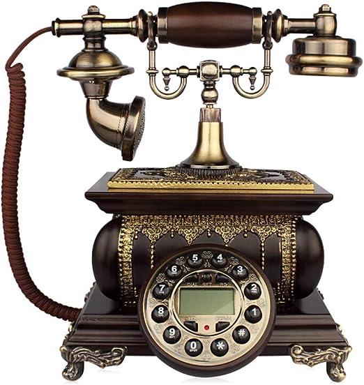 PHONE Tocadiscos Antiguos De Madera Maciza, TeléFonos Fijos ...