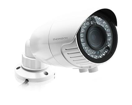Thomson 512358 - Cámara de vigilancia exterior 1080 p, varifocal