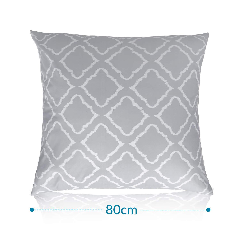 Bedsure Bettw/äsche 135x200 cm gebl/ümte Bettbezug Set mit Retro Paisley Muster 2 teilig weiche Flauschige Bettbez/üge mit Rei/ßverschluss und 1 mal 80x80cm Kissenbezug