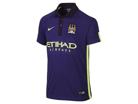 2014-2015 Man City Third Nike Football Shirt (Kids): Amazon.es ...