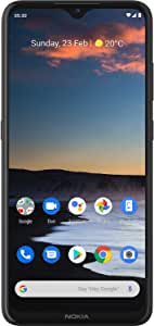"""NOKIA 5.3 Android Smartphone, 4GB RAM, 64GB Memory, 6.55"""" HD+ screen, Quad Camera with AI Imaging - Charcoal"""