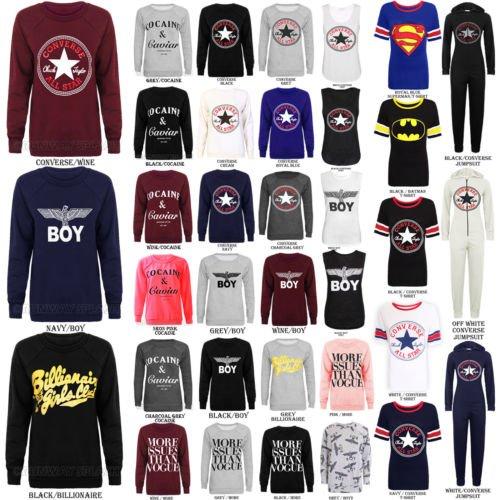 Forever Women's Dope Geek Brookleyn Eagle Print Fleece Sweatshirt