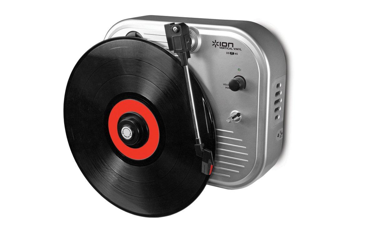 ION Audio Vertical Vinyl Plata - Tocadiscos (Plata): Amazon ...