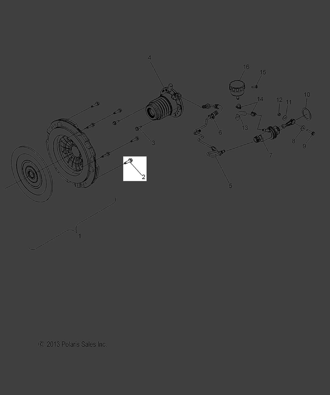 Polaris 2015-2018 Slingshot Limited Edition Slingshot Scr Hxfl M7x1 0X27 75 Spc Gm 11519056 New Oem