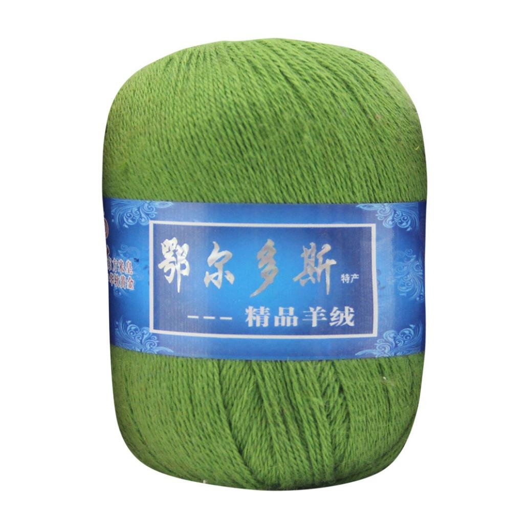 Creazy 1pc Soft Cashmere Yarn Hand-knitted Mongolian Woolen DIY Weave Thread C