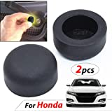 JessicaAlba Black New Rubber Rear Guard Bumper Protector Trim Cover for Honda Crosstour Odyssey City Fit Accord Civic CRV Ciimo Accord