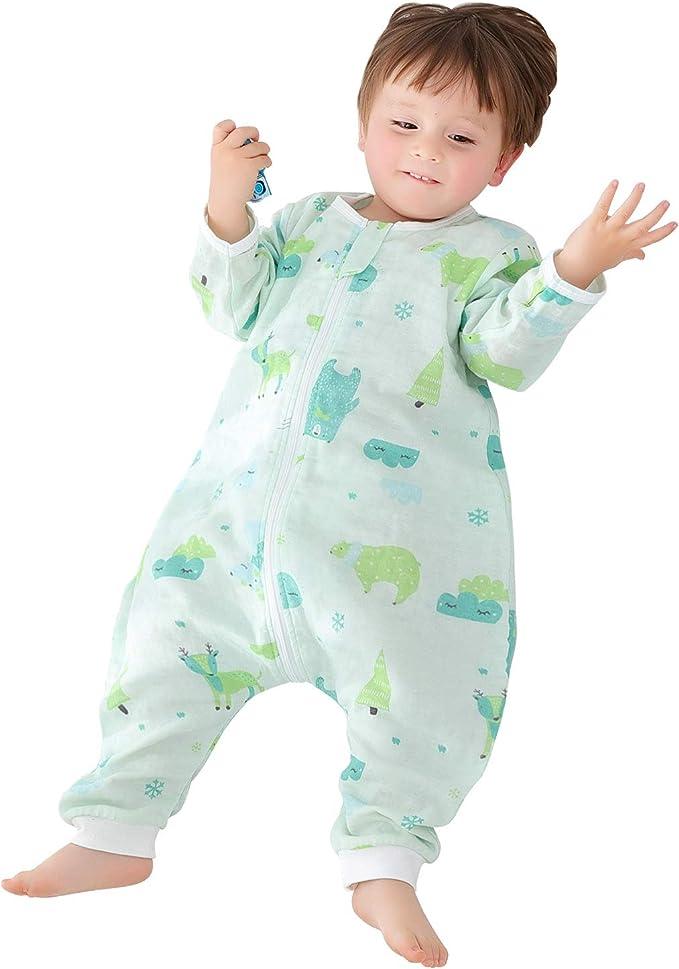 Amazon.com: OuYun - Saco de dormir para bebé con reposapiés ...