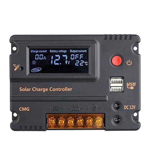 58 opinioni per Anself 10A 12V 24V LCD Carica Pannello di Batteria Solare Regolatore dei Sensori
