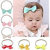 Iversan Baby Girl's Elastic Hair Hoops Headbands