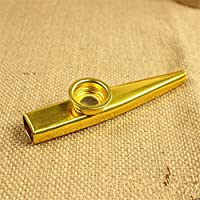 TIEM Metal Kazoo Harmonica Mouth Flute Kids Party Gifts Kids Musical Instruments