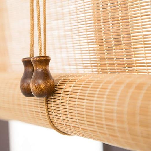 Persiana de bambú Rodillo Exterior/Interior De Sombra De Las ...