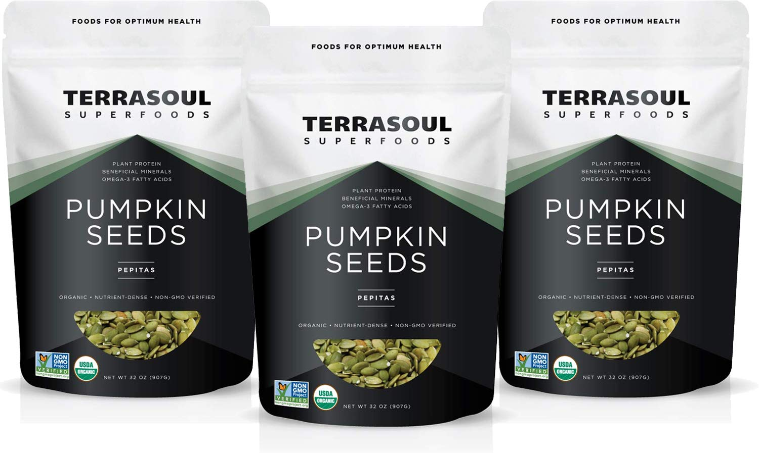 Terrasoul Superfoods Organic Pumpkin Seeds, 6 Lbs - Premium Quality | Fresh | Raw | Unsalted by Terrasoul Superfoods