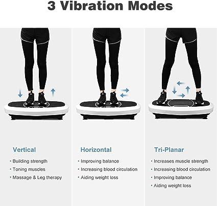 Finether-3D Vibroshaper Plataforma Vibratoria Tonificador Muscular ...
