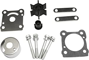 Full Power Plus Yamaha 6HP 8HP Outboard Water Pump Parts Impeller Kit Replacement Sierra 18-3460 6G1-W0078-A1