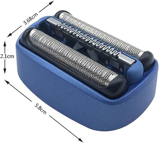 Poweka - Cabezal de afeitado eléctrico para Braun 40B Cooltec CT2s ...