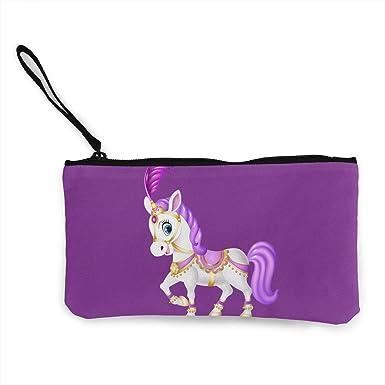 Amazon.com: Bonito bolso de lona con diseño de caballo ...