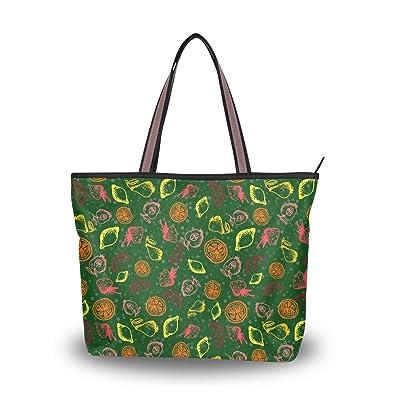 993a32bbf965e Women's Multi-pocket Cotton Canvas Handbags Shoulder Bags Totes Purses Multi -pocket Shoulder Bag