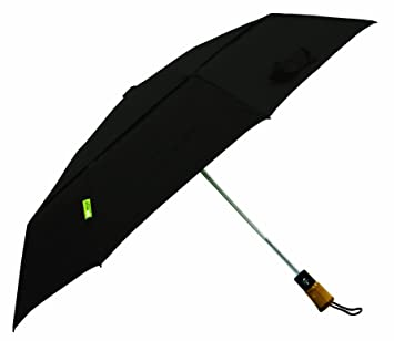 f1eda398d ShedRain Ecoverse Automatic Open And Close Compact Umbrella,Black,One Size