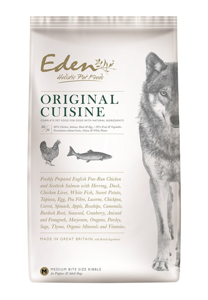 Eden Dog Food 80/20 Original Medium Kibble 12kg
