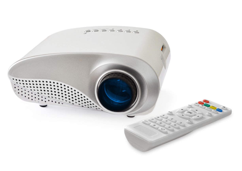 OEM K1 LED LCD (QVGA) Mini Video Projector - International Version - White (FP3224K1W-IV)