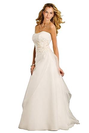 Perfect Wedding MS130039-Vestido de Novia Mujer Beige 46 ...