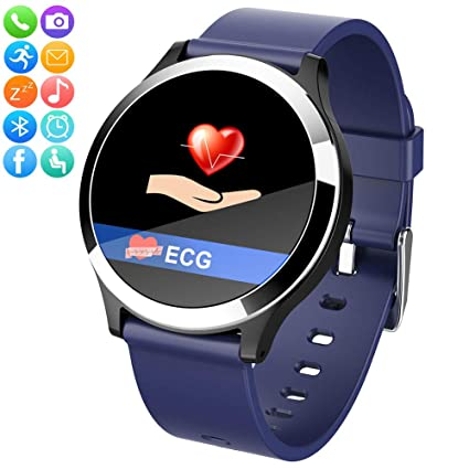 Amazon.com: YAALO - Reloj inteligente impermeable con ...