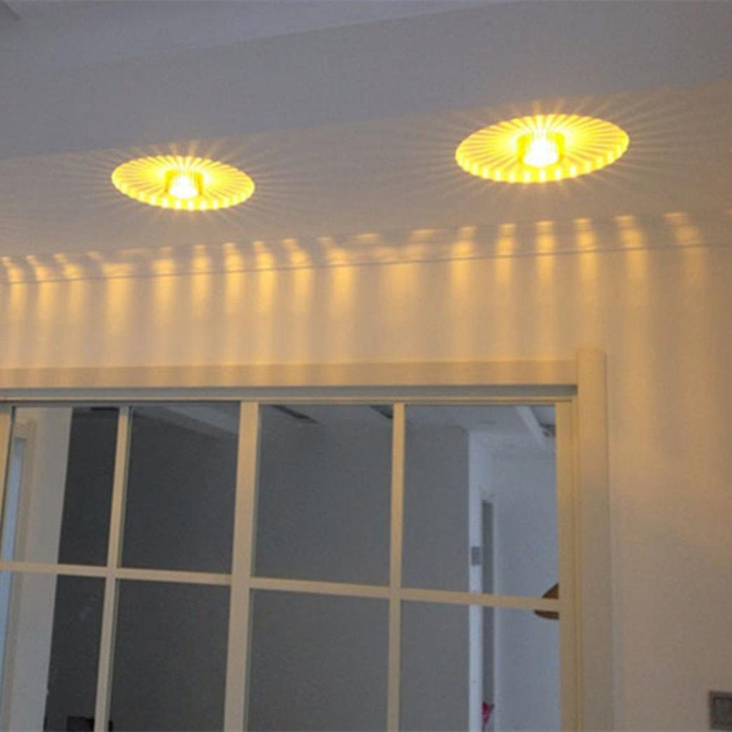 Capable 3w Led Home Ceiling Office Bars Or Any Other Lighting Occasions And Decoration Sun Flower Creative Led Ceiling Lights Lights & Lighting