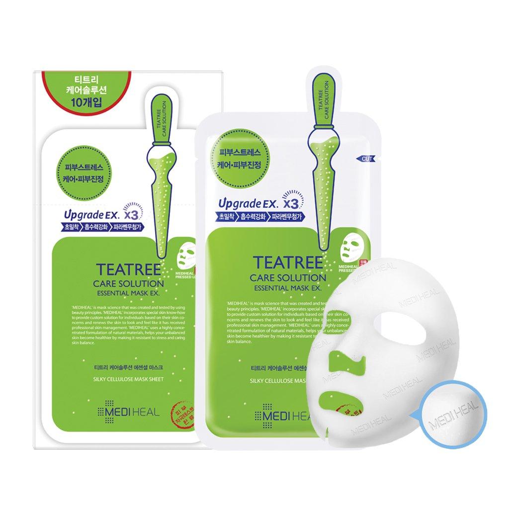 Mediheal Whp White Hydrating Black Mask Ex 25ml Secret Key Nature Recipe Pack Tea Tree 20g 3pcs Teatree Care Solution Essential Of 10