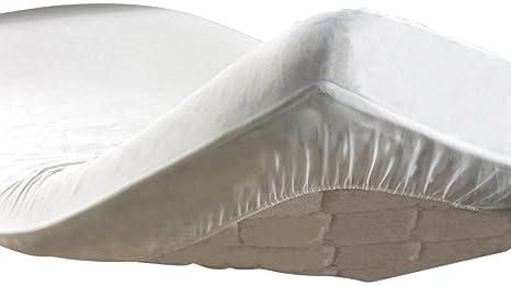 Douceur d Intérieur Protège Matelas Anti-Acarien Eponge Peva 90 x 190 cm 6ecb171dd914