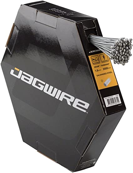 Jagwire Basics Brake Cable 1.6/x 1700/mm Compatible with SRAM and Shimano/ /MTB Stainless Steel Pack of 100