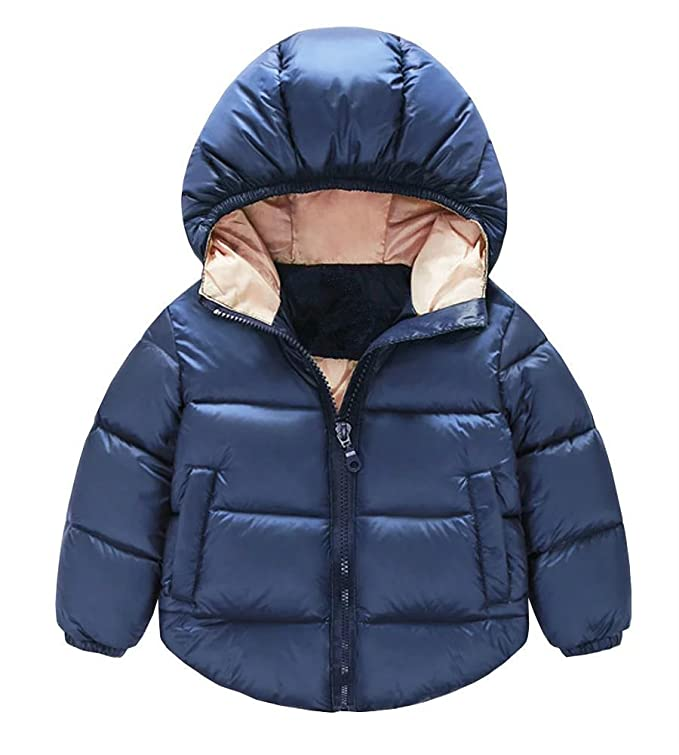 11644288dd64 Amazon.com  JINTING Toddler Baby Boys Girls Outerwear Hooded Coats ...