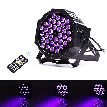 U  king Barre de LED UV lumière noire, 36 LED par lumière pour fête ... c3faf5d5b6b7
