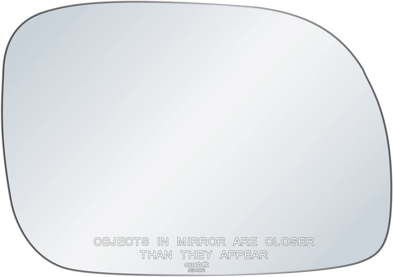 Rugged TUFF exactafit 8340R Replacement Passenger Right Side Mirror Glass Convex Lens fits Grand Voyager Caravan Town /& Country