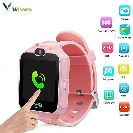 Winnes - Smartwatch para niños, Reloj móvil para Juegos ...