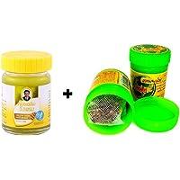 20g Thai Yellow Balm Masaje Bálsamo vegetal pura