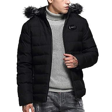 355917b3b Amazon.com  Sumen Men Young Boys Winter Zip Up Quilted Puffer Jacket ...