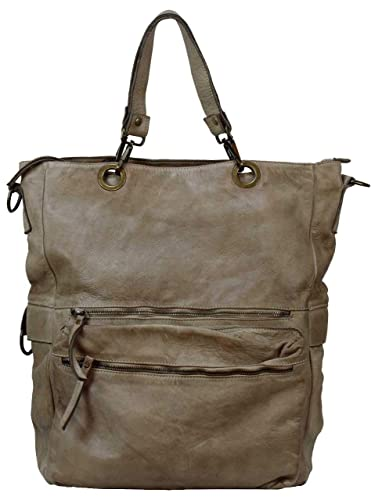 BOZANA Bag Elisa beige Italy Designer Messenger Damen