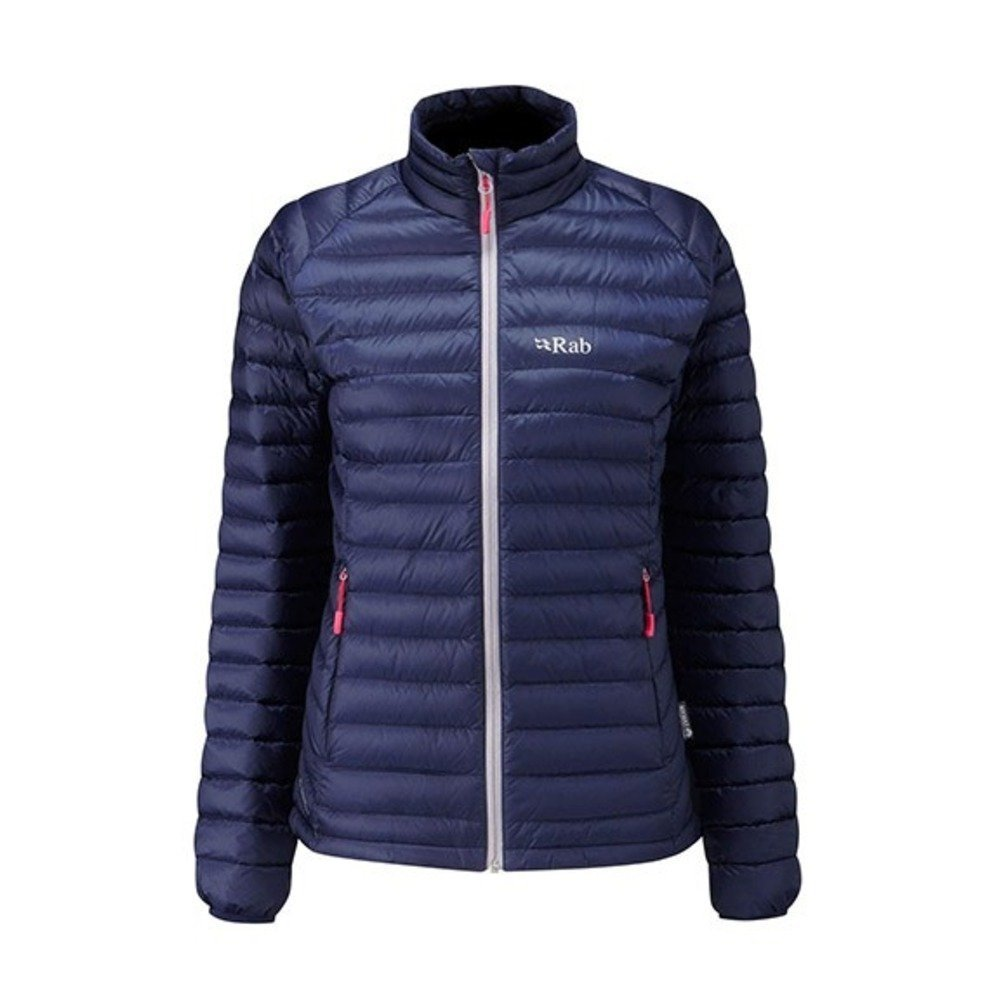 Rab Microlight Jacket - Women's Twilight/Fuschia 8 by RAB