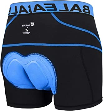 Men/'s 3D Padded Cycling Underwear Bicycle Underpants Lightweight Bike Shorts