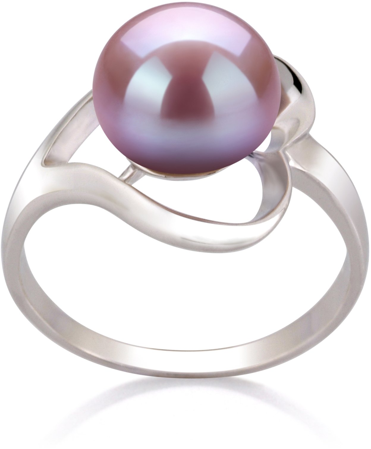 Sadie Lavender 9-10mm AA Quality Freshwater 925 Sterling Silver Cultured Pearl Ring - Size-9