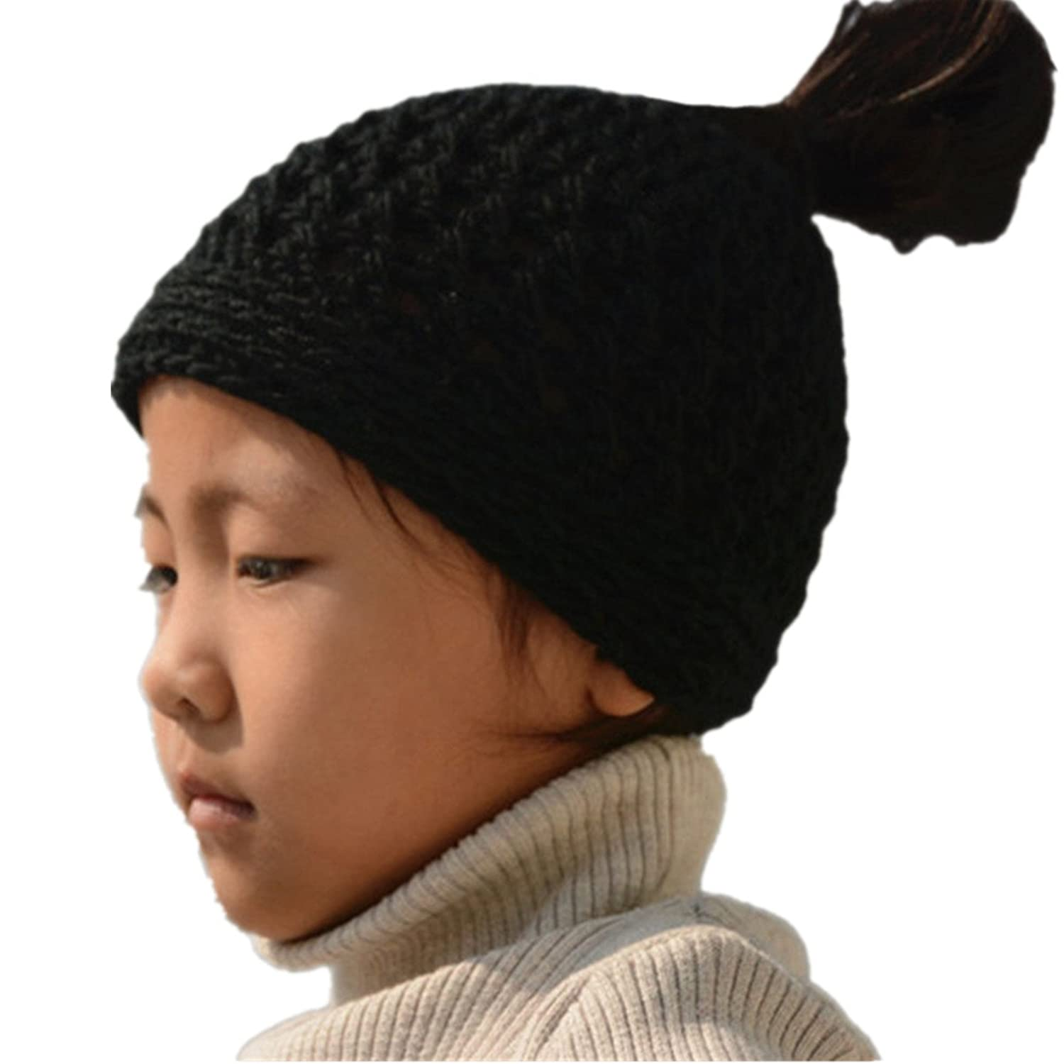 Tinacrochetstudio@ Messy Bun Hats Ponytail Beanie Homemade Chirstmas Gifts