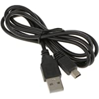 HOMYL USB Cable , Compatible With Sony PlayStation PS3/PS 3 Slim Controller Mini USB 2.0 Charger Cable Cord 0.8m/2.62 Feet