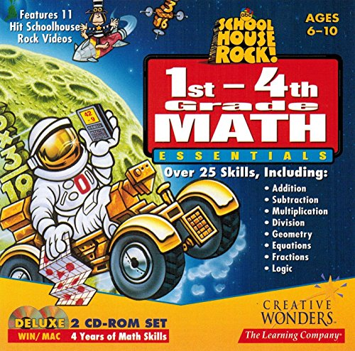 SCHOOL HOUSE ROCK! 1st-4th Grade Math Essentials (WINDOWS/MAC)