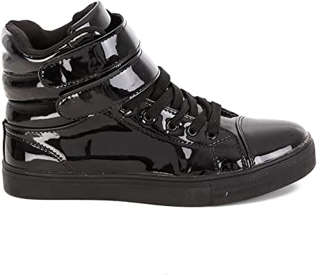 Alexandra Collection High Top Dance Sneakers Shoes for Women