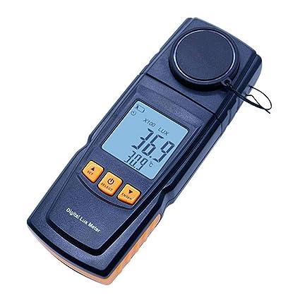 Laileya Lux del fotómetro de FC medidor de luz digital Dispositivo de medición del medidor de